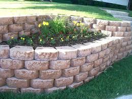 garden blocks cool landscaping bricks home depot garden wall blocks
