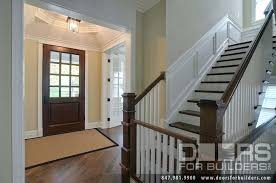 wood front doors with glass solid wood front doors no glass