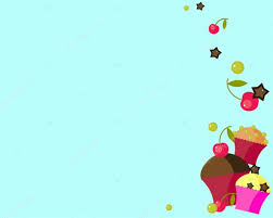 Background With Cupcakes Vector Image Stock Vector Sunnygirl94