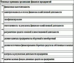 Основы финансов предприятий Финансы инвестиции бизнес Основные принципы организации финансов предприятий