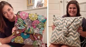 diy throw pillow covers no sew