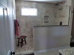 Doorless Walk In Shower Ideas Bathroom Designs With Walk In