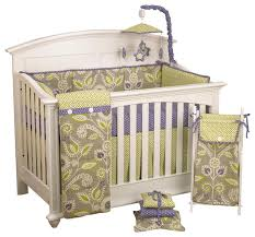periwinkle 7pc crib bedding set