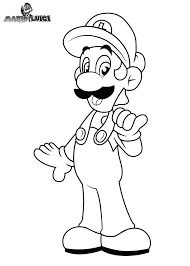 Mario And Luigi Coloring Pages Bratz