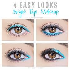 4 easy eye makeup looks using bright colors beauty point of view makeup inspiration maquiagem maquiagem incrível and ideias de maquiagem