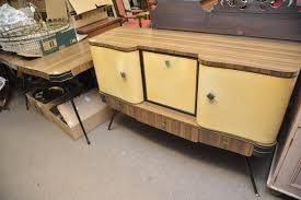 Retro Extending Dining Table A Retro Arvin Extending Dining Table With Matching Sideboard