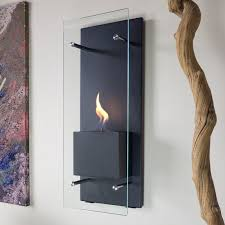 canello wall mounted bio ethanol fireplace