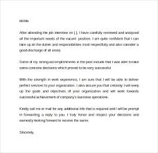 Interview Follow Up Letter Letters Font