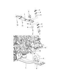 2010 dodge journey engine mounting diagram i2248044