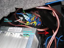 diy amplifier sub install for e92 with i drive Wiring Diagram Bmw On 2000 323ci Harman Kardon name harnesstap jpg views 65426 size 172 8 kb
