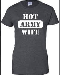 Sexy army wife clothing