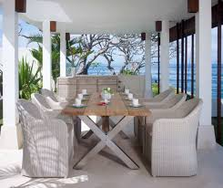 modern outdoor dining furniture. Beautiful Furniture Beautiful Luxury Outdoor Dining Furniture Creative Decoration Modern  Table Ideas In