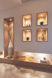 Small Picture modern POP wall designs in hall shelves in POP designs Wall