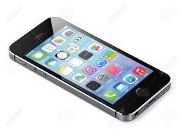 Apple Iphone 5s Black Back Stock Photo ...