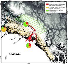 Southeast Alaska Chart Summary Of Exhumation Pattern In Southeast Alaska Pie