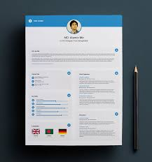 free resume template design free simple resume cover letter business card design template in