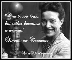 Simone De Beauvoir Quotes Cool SIMONE DE BEAUVOIR THE SECOND SEX A REVOLUTION IN FEMINISM OF THE