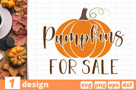 You can copy, modify, distribute and perform the work, even for commercial purposes, all. Pumpkins For Sale Graphic By Svgocean Creative Fabrica