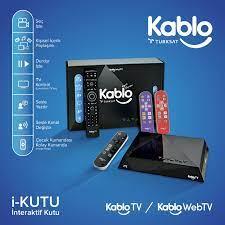 Türksat Kablotv'den İnteraktif Kutu Hizmeti i-KUTU