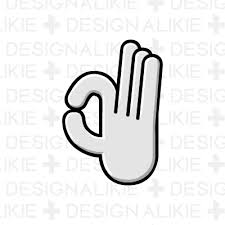 人差し指の手の無料イラスト素材イラストイメージ