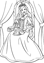 Small Picture Princess Coloring Pages Coloring Kids