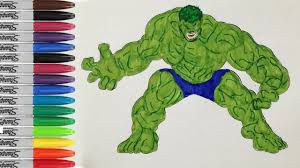 Hulk colors finger family parody song nursery rhyme hulk play doh. The Hulk Coloring Pages The Incredible Hulk Gets Angry Sailany Coloring Kids Youtube