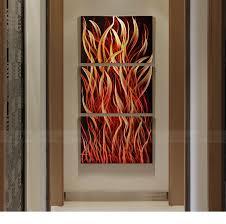china abstract metal art fire modern