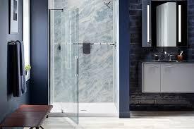 glass shower doors sliding doors