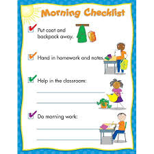 Classroom Routine Chart Morning Routine Classroom Management Chart