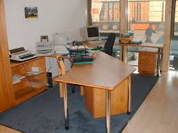 Scrivania Angolo Moderna : Scrivania in legno moderna d angolo professionale tilly