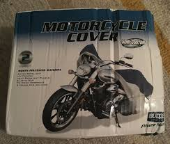 Budge Gray Blue Motorcycle Cover Mc 6 Xl Size Up To 1500cc Water Repellent C268