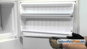 refrigerator door shelf bar part wr17x3692 how to replace