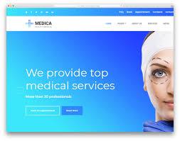 Medica Free Health Medical Website Template Colorlib