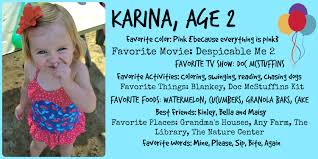 Karina Age 2