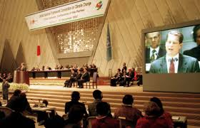 kyoto protocol history provisions facts com delegates at the opening session of the conference in kyaring141to that led to