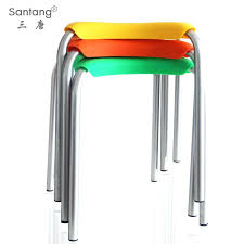 plastic stools ikeathree tang plastic color high stool stools stacked  lightweight summer home standby stool stool