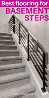 See how real people incorporate different flooring materials into their interior design. Basement Stairs Best Flooring Choices For Steps The Flooring Girl