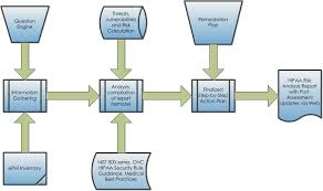 Vulnerability Remediation Process Flow Chart Hipaa Security Risk Analysis Data Risk Managementdata Risk