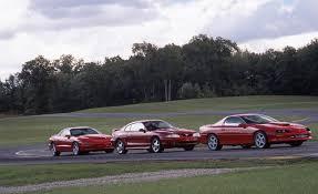 1996 Ford Mustang Cobra vs. Chevrolet Camaro Z28 SS, Pontiac ...