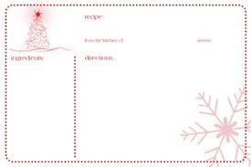 Printable Christmas Recipe Cards Free Printable Holiday Tags Recipe Cards More Simply Sweet Home