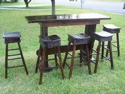 bar and bar stools. Custom Made Reclaimed Antique Oak Bar And Stools E