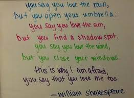 Famous Shakespeare Love Quotes