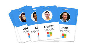 Someone Redesigned Microsofts Employee Badges To Make Workers Look