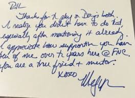 Thank You Notes Bill Oreilly Shares Handwritten Thank You Notes From Megyn Kelly