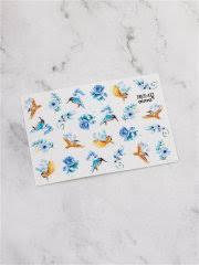<b>Наклейки для ногтей</b> ( птицы, цветы) AIMAQPRO 11370048 в ...