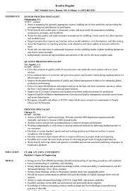 Hearing Instrument Specialist Sample Resume Process Specialist Resume Samples Velvet Jobs 24