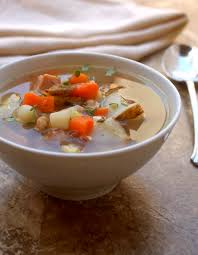 crock pot leftover ham bone soup recipe
