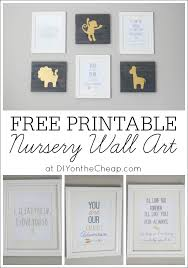 Free Printable Bathroom Art Magnificent Free Printable Nursery Wall Art Erin Spain