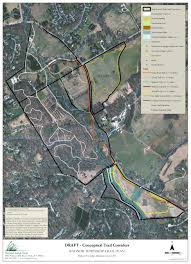 proposed local trails and future projects radnor conservancy Map Of Ardrossan nlt trail map for ardrossan map of ardrossan