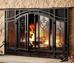 custom glass fireplace doors elegant interior remodel with tempered glass fireplace doors and tubular steel fireplace screen fireplace custom fireplace